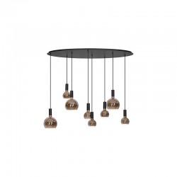 Design vloerlampen 5422 Burgundy - Steinhauer